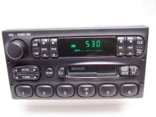 Expedition Excursion Radio Tape Player F8AF19B132AA 98 99 00 01 02
