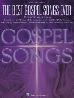 The Best Gospel Songs Ever Piano Vocal Guitar Song Book