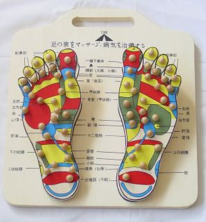 Reflexology Foot Massager Acupressure Points New