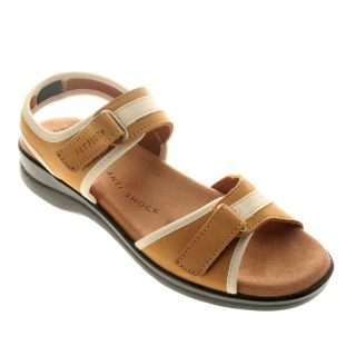 Fly Flot Devona Comfort Sandals Nubuck Leather Womens Shoes All Sizes