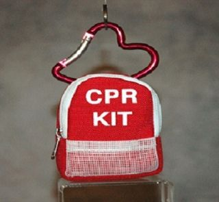CPR Kit Keychain Rescue Breather First Aid Kit Medical Supplies