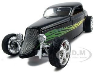 1933 Ford Coupe Black 1 18 Diecast Model Car
