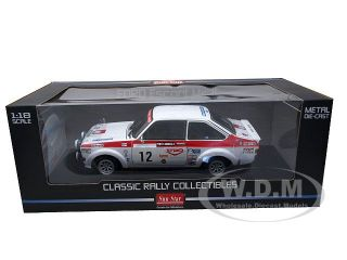new 1 18 scale diecast car model of ford escort mkii 12 p airikkala r
