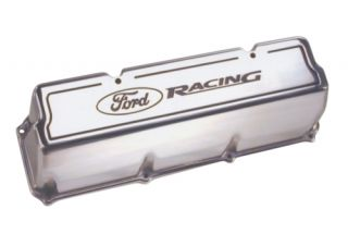BRAND NEW FORD RACING 302/351C/351M/400 POLISHED VALVE COVERS #M 6582