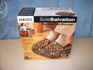 Homedics Sole Salvation Portable Foot Massager New in Box