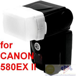 Flash Diffuser Soft Box for Canon 580EX II 580 EX II