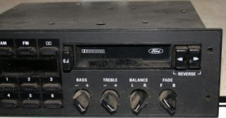Ford Car or truck radio removed & stereo system installed stock radio