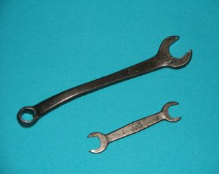 Vintage Lot 2 pc Ford Model T Tool Kit Wrenches Tools T 1917 Headbolt