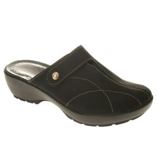 Fly Flot Capri Comfort Clogs Nubuck Leather Womens Shoes All Sizes