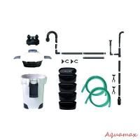 Aquarium Fish Tank External Canister Filter + Media Kits Self Priming