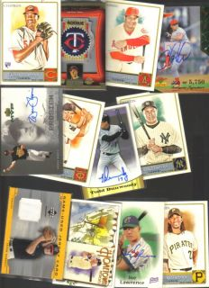 Sports Card Collection Patch Jersey Auto RC Lot 1 1