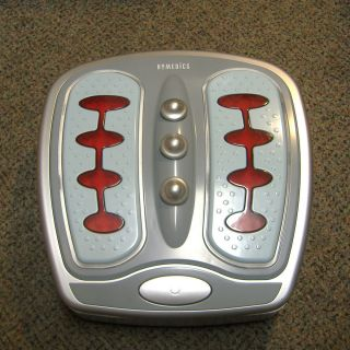 Homedics Foot Revitalizer Luxury Foot Massager With Heat Model FM