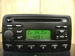 Ford Focus Cougar factory AM FM CD player radio 98 99 00 01 02 03 3S41