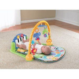 Fisher Price Discover n Grow KICK & PLAY PIANO GYM New