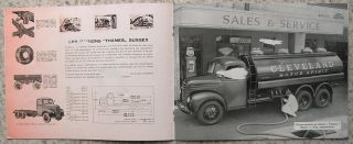 Ford Thames Trucks Belguim Brochure 1953 K1882 French