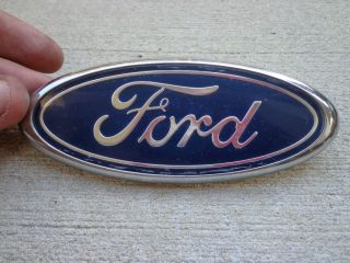 Factory Stock Ford Contour Front Bumper Oval Grille Grill Emblem Badge