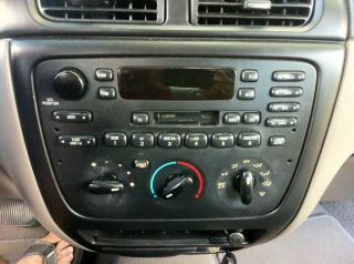 01 03 Ford Taurus Mercury Sable Radio Caste