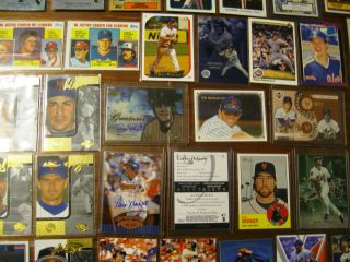 New York Mets Baseball Team Lot Cards RCS Inserts Autos Bat The Wiz