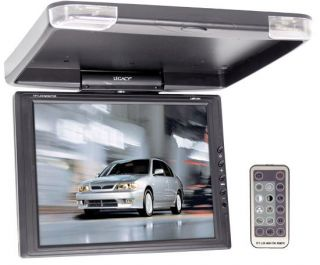13 TFT LCD Flip Down Roof Mount Car Monitor Video TV Screen