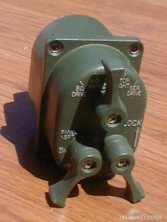Military Truck Vehicle M151 A1 A2 M35 M54 Head Light Switch New