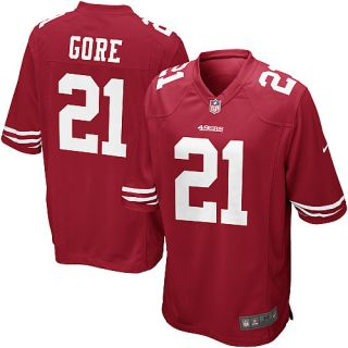San Francisco 49ers Frank Gore Youth M Game Jersey