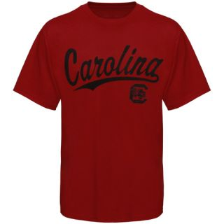 South Carolina Gamecocks Mens Script One T Shirt Garnet