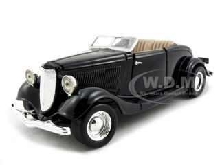 24 scale diecast model of 1934 ford coupe convertible die cast car by