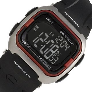 Mens Ladies FREESTYLE Grominator Digital Sport Watch Black Rubber Band