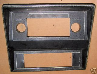 71 72 73 Ford Mustang Radio Bezel Original
