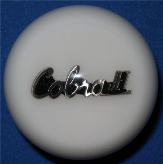 White Cobra Jet Ford Mustang Shelby Shift Gear Knob GT AC 429 Mach 1