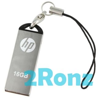 HP V220W 16GB 16g USB Flash Pen Drive Memory Disk Metal