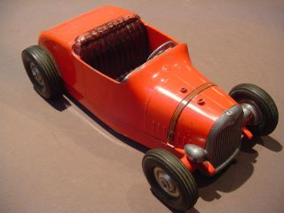 Cast Aluminum Rat Hot Street Rod 1950s Style 1932 Ford Roadster All