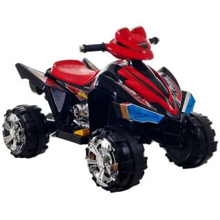 Kids Power Ride on 4 Wheeler Quad ATV Wheels Battery Operated Scooter