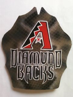 Custom Fireman Fire Helmet Front Shield Arizona Diamondbacks