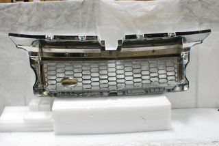 LAND RANGE ROVER TRIPLE CHROME PLATED FRONT HOOD SPORT G2 MESH GRILLE