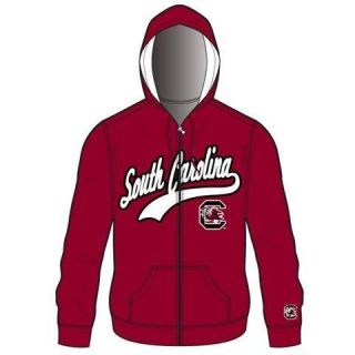 South Carolina Gamecocks Mens Zip Up Hooded Jacket Sweatshirt