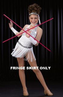 Teachers Stand Out Mix Match White Christmas Dance Costume Option
