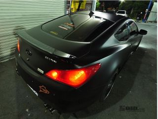 hyundai genesis coupe 2010 11 rear spoiler condition brand new