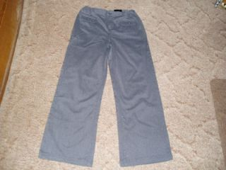 george womens pants sz 12 1 2 plus gray nwt