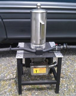Gas Powered Party Blender (2 Stroke Engine)   WORKS GREAT   NR