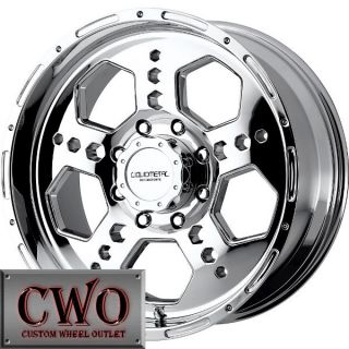 18 Chrome LM Gatlin Wheels Rim 5x127 5 Lug Chevy GMC C1500 Jeep