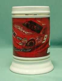 Up for sale is a Budweiser stein with Kasey Kahne Bud car #9.