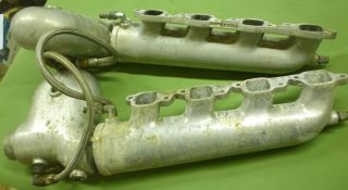 Glenwood Aluminum Exhaust Manifolds with Risers 1 Pair