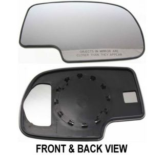 Mirror Glass Right RH Passenger Side GMC Sierra 1500 HD