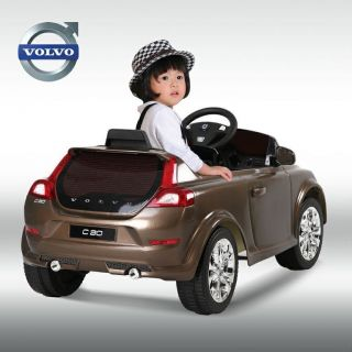 Battery Powered Ride on Toy Car Luxurious Volvo C30 Power Wheel