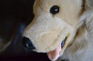 Large Golden Retriever Dog Soft Stuffed Animal Plush Toy Pretend Pet