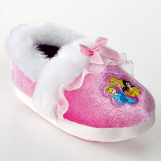 Disney Princess Girls Slippers Pink Belle Cinderella