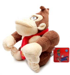 Authentic Brand New Global Holdings Super Mario Plush   9 Donkey Kong