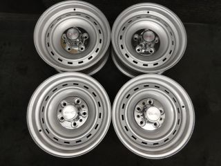 15 Chevy GMC Truck Or Van Rally Wheels RARE Rims 5on5 Silverado Sierra