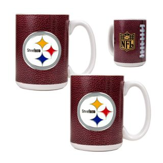 Great American Products Gameball Coffee Mug Set Primary Logo Helmet